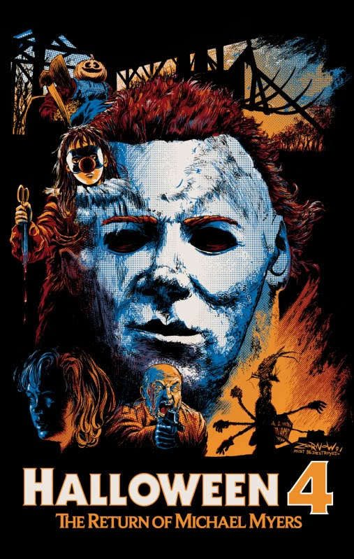 Halloween 4 – O Retorno de Michael Myers Dublado HD