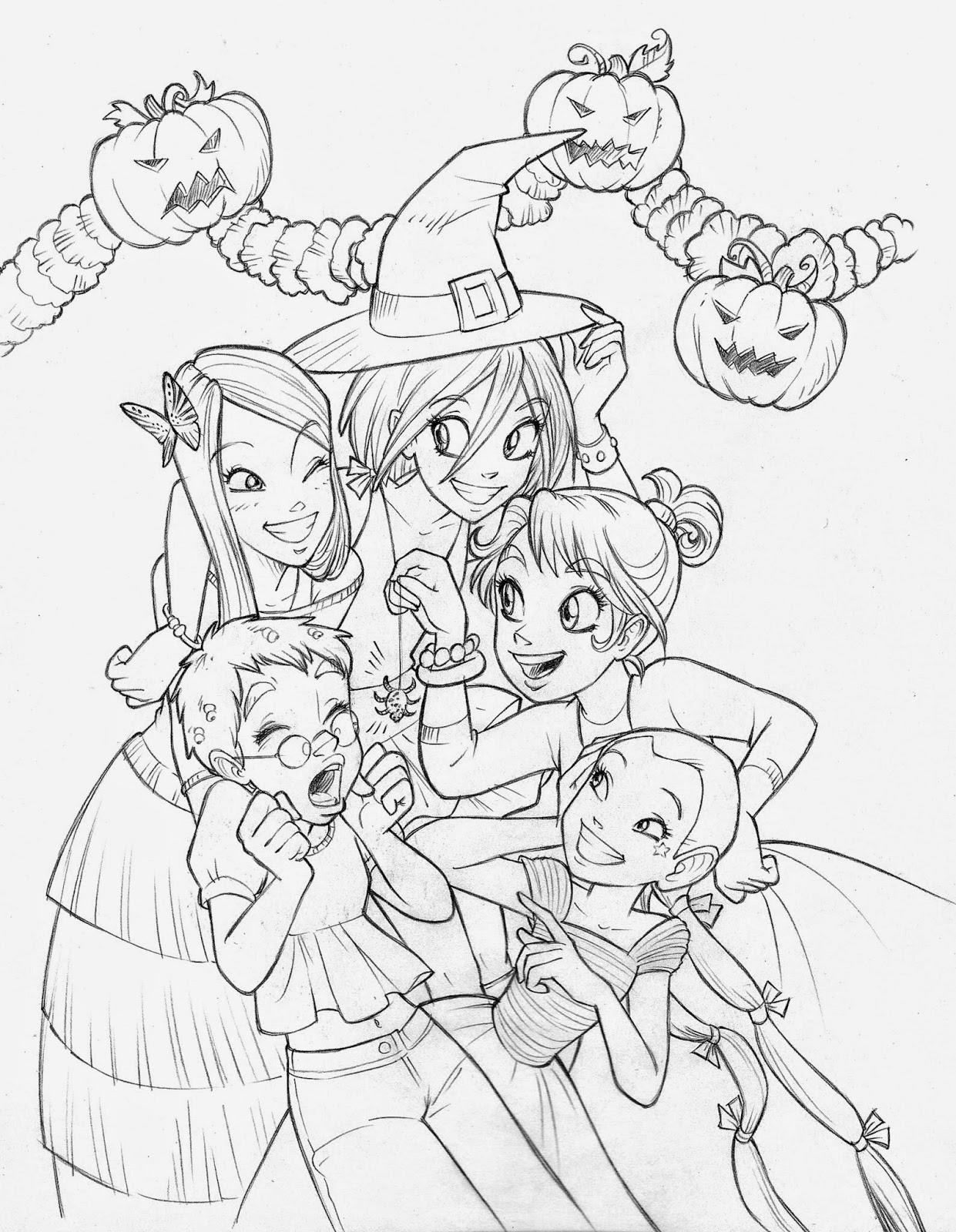 Un altro halloween per le W.i.t.c.h.