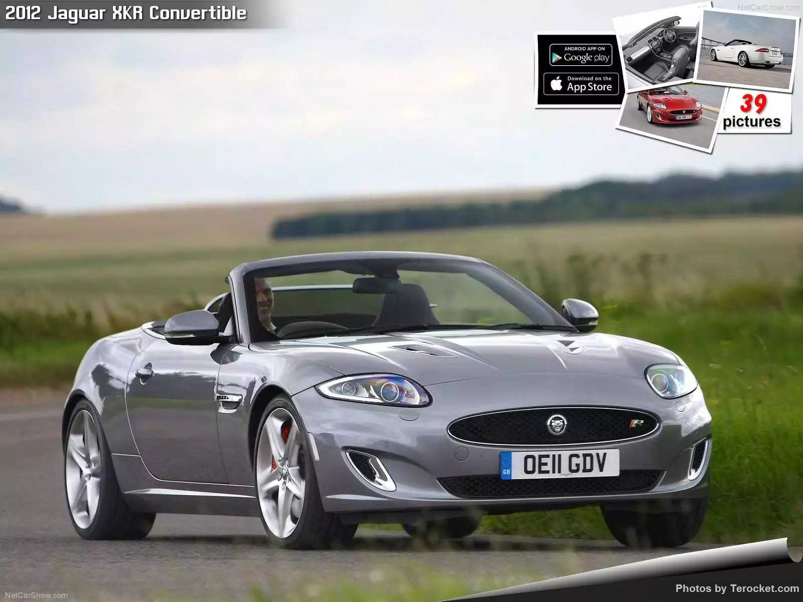 Hình ảnh xe ô tô Jaguar XKR Convertible 2012 & nội ngoại thất