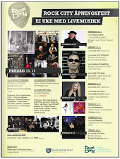 Namsos Rock City - Program