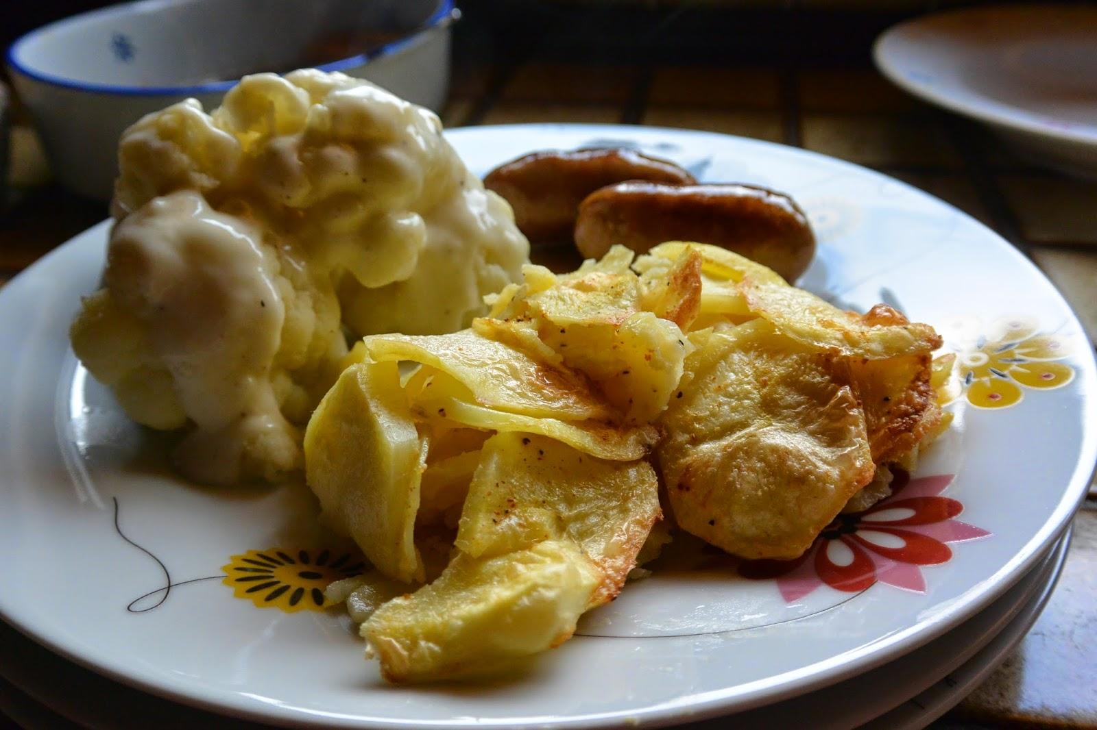 Las recetas de meritxell nuestra cena y una bechamel sin - Bechamel con nata para cocinar ...