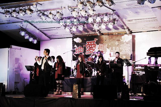 Stage, Shilin Night Market, Taipei, Taiwan