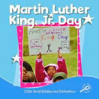 bookcover of Martin Luther King, Jr. Day  by MC Hall