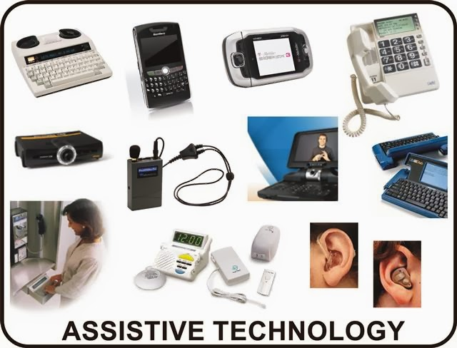assistive technology Assistive technology (at) refers to devices, software programs, or apps that are  used by people with disabilities to perform functions that might otherwise be.