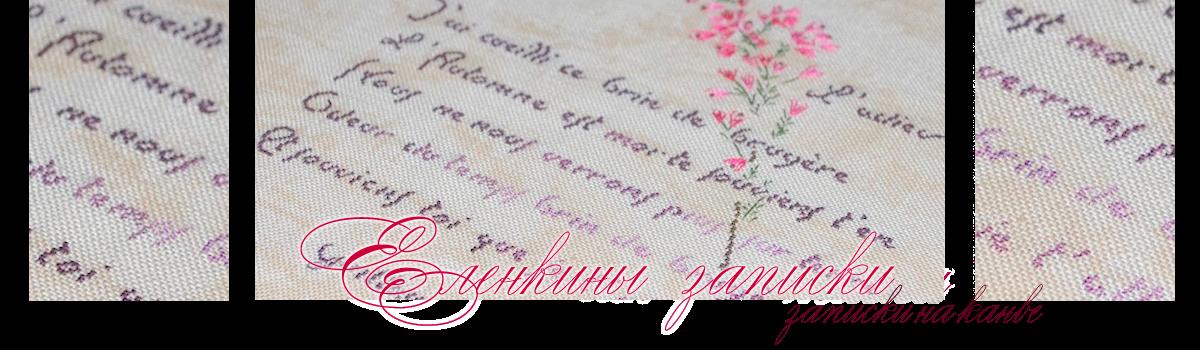 Еленкины записки