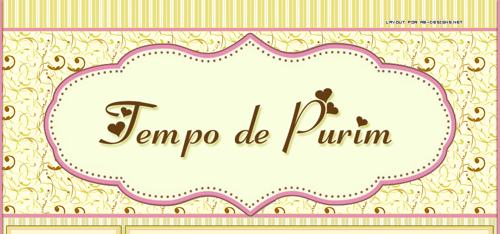 Tempo de purim!