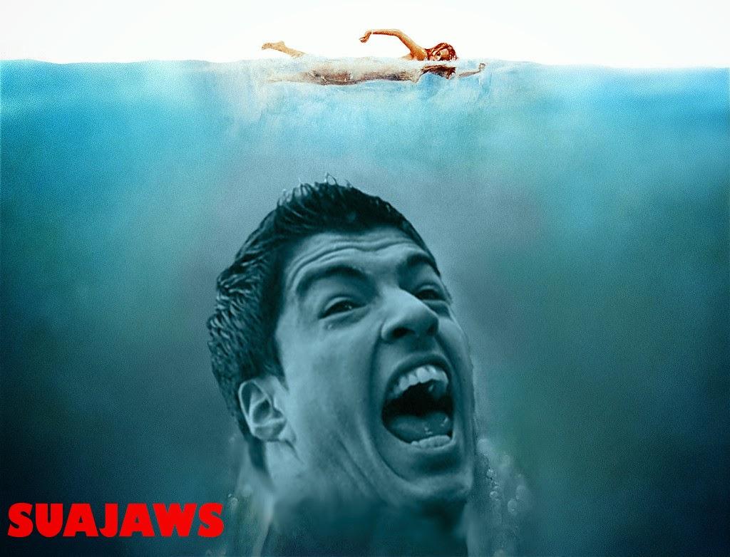 Suajaws, Luis Suarez, meme, bite, World Cup 2014, Uruguay, funny, funny picture,