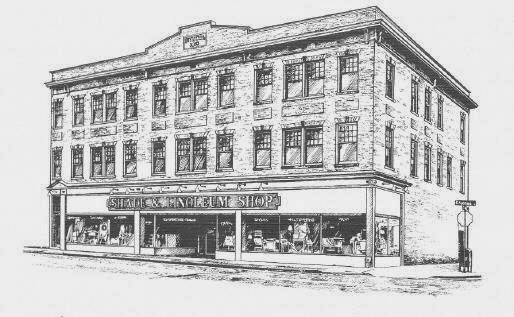 The Shade Shop building - 1910
