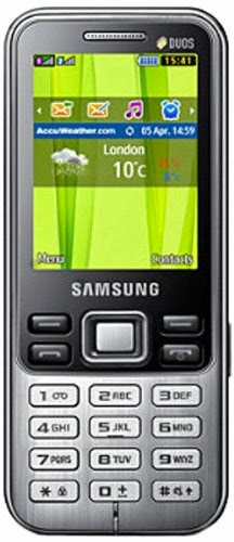 Buy Samsung Metro Duos GT-C3322 (Midnight Black) Rs. 3401 only at Amazon.