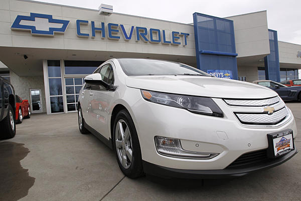 Chevy Volt leads the most popular car survey.