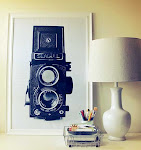vintage camera print