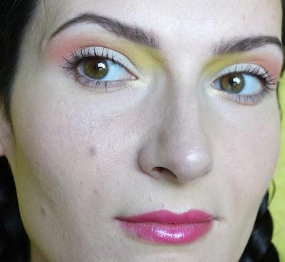 Cukiereczek - makijaż paletą Sleek Ultra Mattes V1 Brights