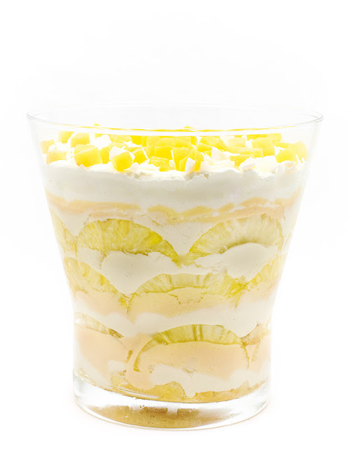Tropic trifle recipe shot front