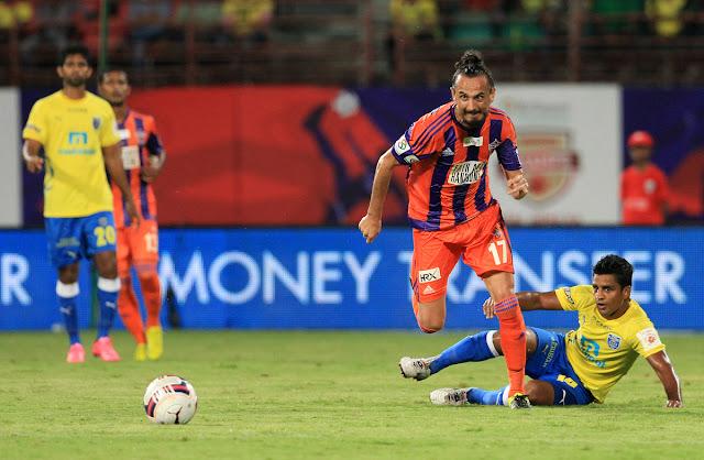 Kerala Blasters 2-0 FC Pune City
