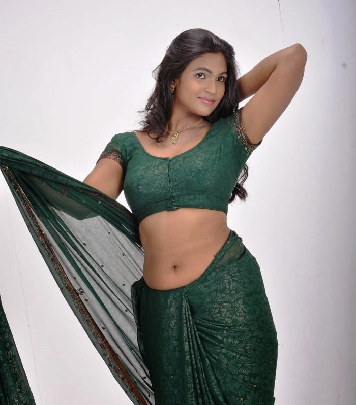 Navel In Saree - Twinkle | Navel Collection - Desi Girls