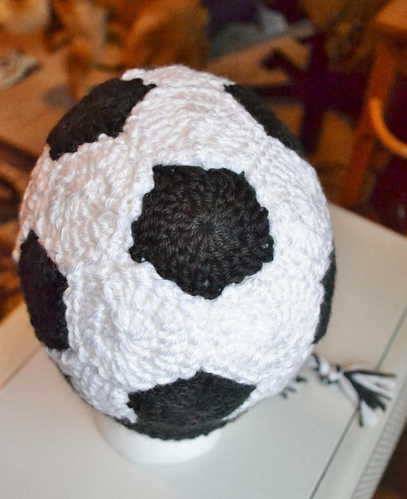 The sequin turtle crochet soccer ball hat i do not plan on listing this hat in my shop but you can purchase a custom hat gift certificate and order one of your very own if you want dt1010fo