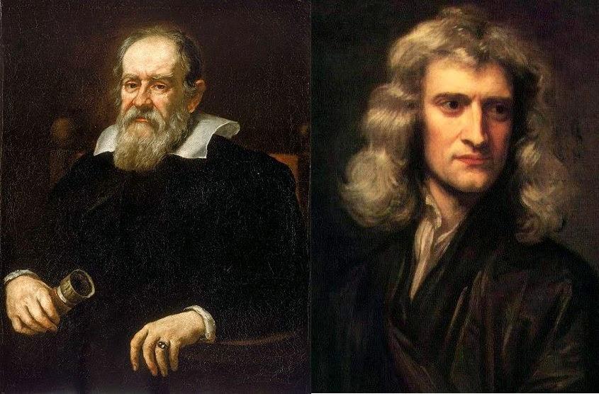 Newton Galileo dinamica