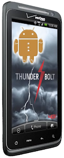 Android Gingerbread Coming to HTC Thunderbolt