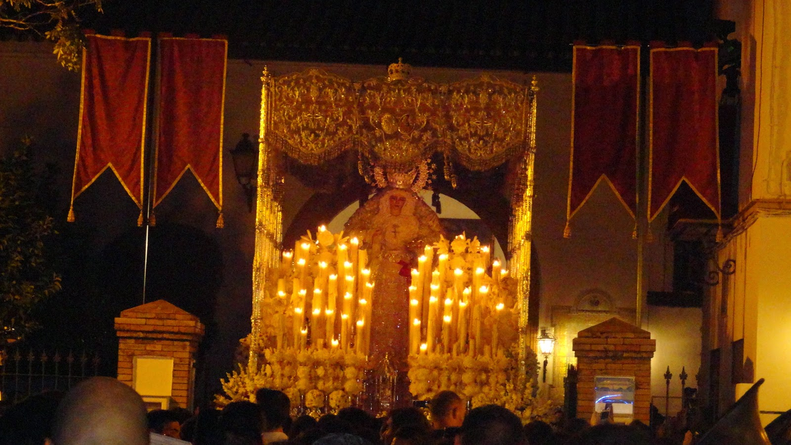 Procesion Extraordinaria de Vuelta 75 aniversario de la Virgen de la Paz