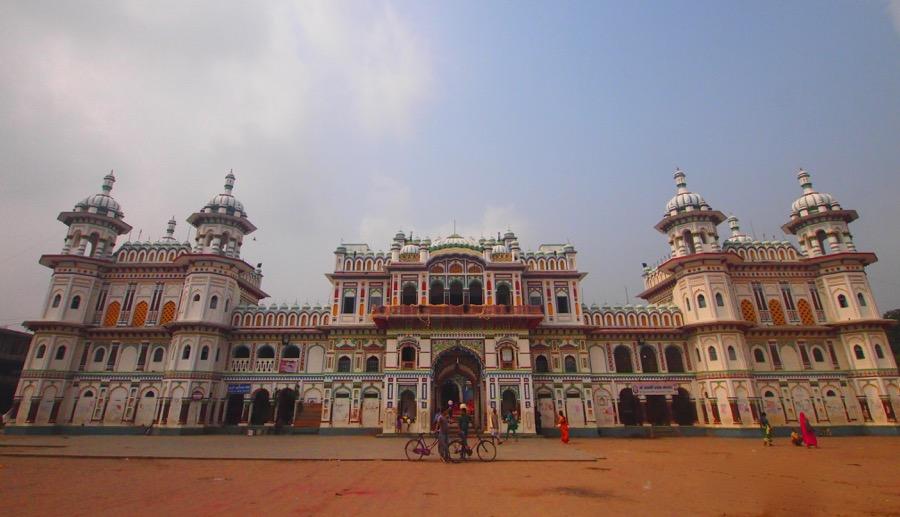 The Janaki temple - a photo on Flickriver