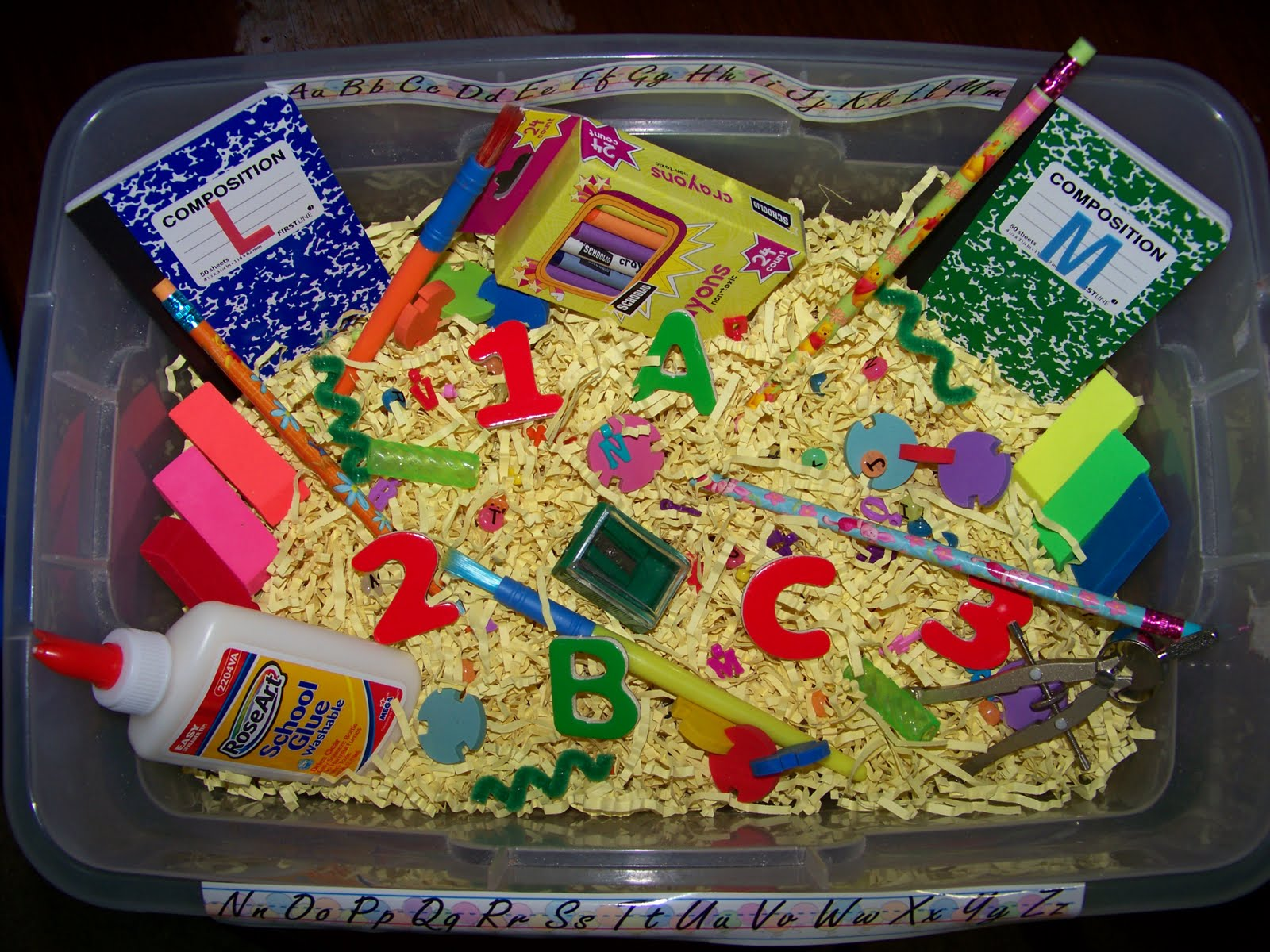 Sensory Bins for PreSchoolers and Toddlers