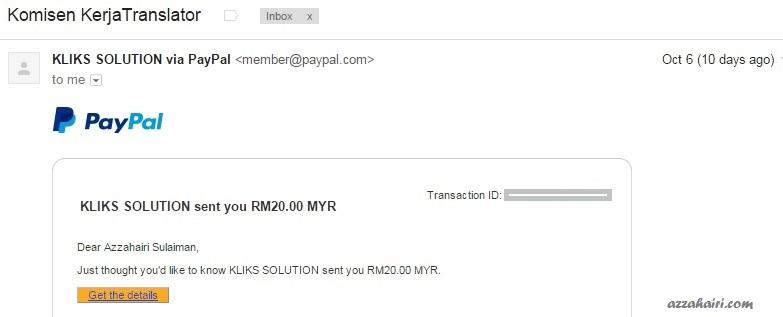 buat duit dengan kerja translator