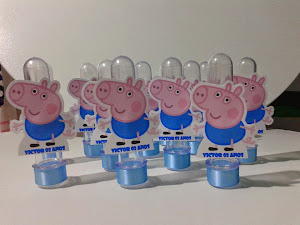 Tubetes Personalizados George Peppa Pig
