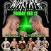 This Friday February 17,2012 WarPath MMA 4 in Chilliwack BC