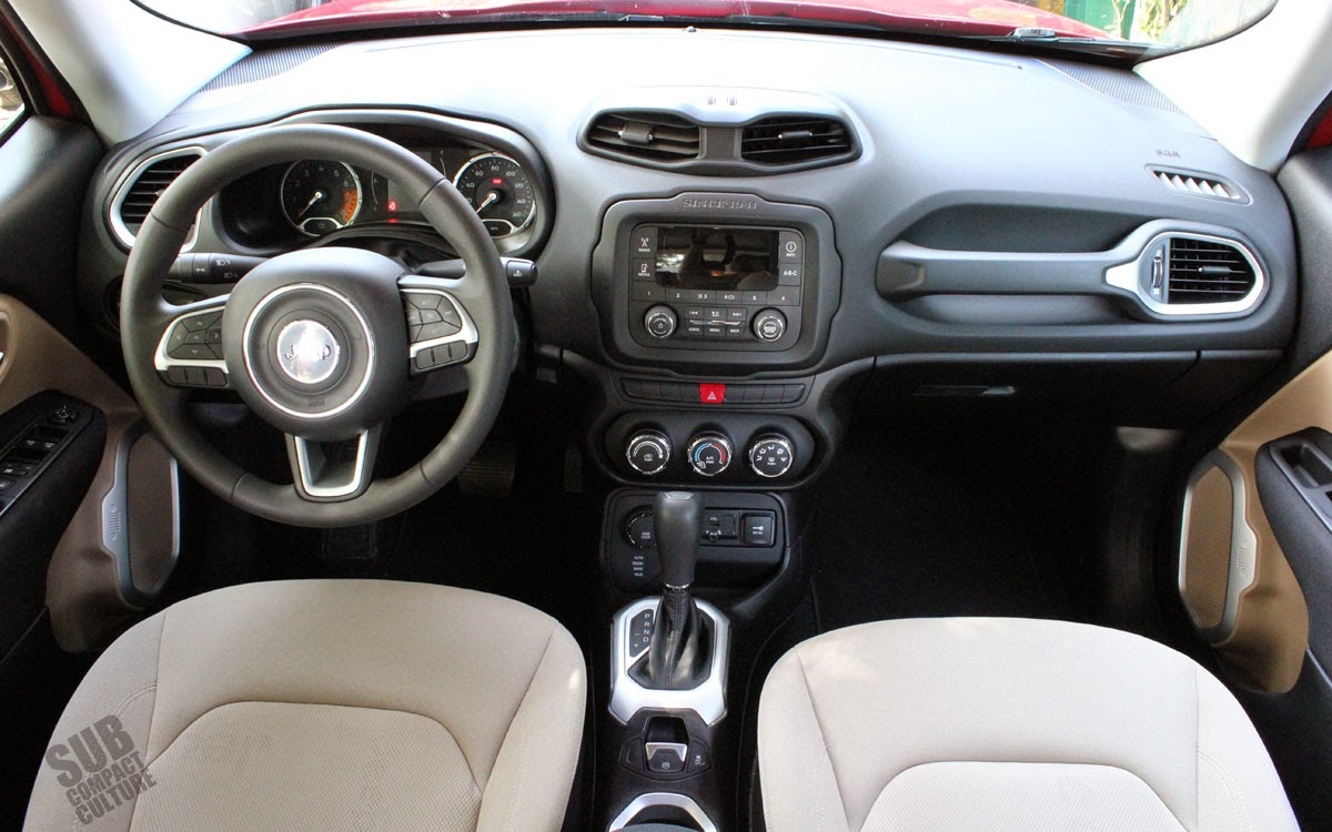 Review 2015 Jeep Renegade Sport Subcompact Culture The Small Car Blog