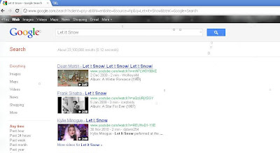 Let is Snow on Google