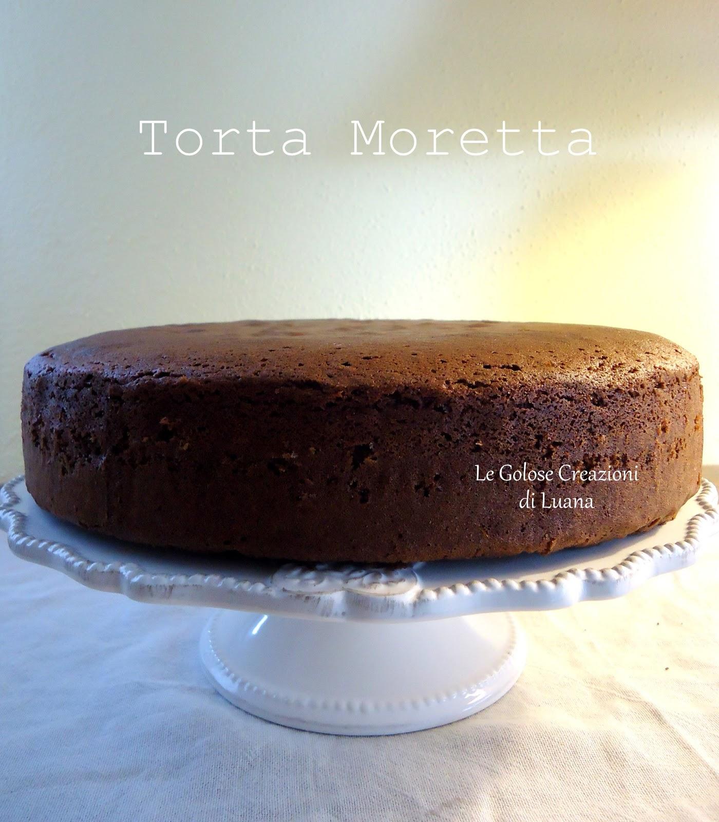 Angolo dei desideri: Torta Moretta...