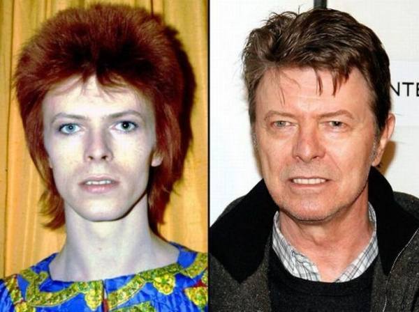 david-bowie-rock stars then and now