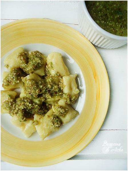 Gnocchi Con Pesto De Albahaca Y Frutos Secos - D.c. September 2013