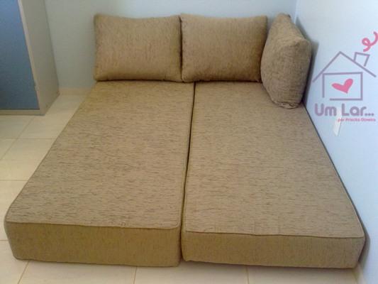 Um lar um sof cama simples e pr tico for Sofa cama de espuma