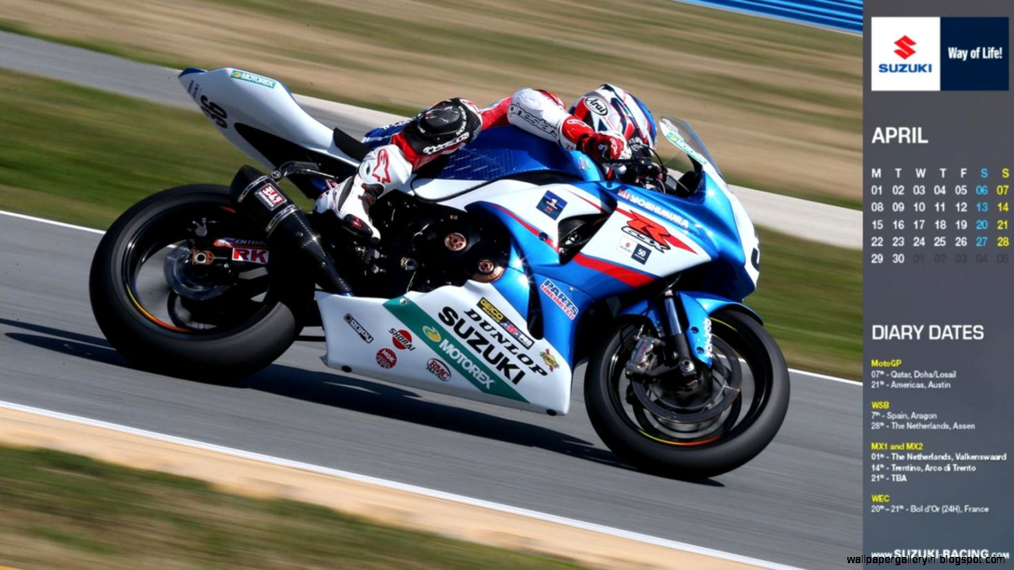 Calendario Martin Cardenas Ama Superbike HD 2482 Wallpaper