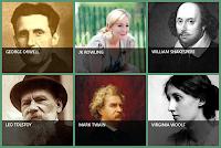 6 famous authors