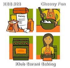 KBB # 23 : LEMON CHEESE CAKE (CHEESE FUN)