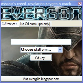 Assasins Creed Revelations Cd keygen and Crack by Everg0n ~ Professional Blog