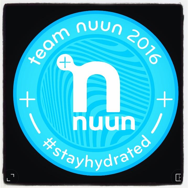 I'm a 2016 Team Nuun Ambassador!