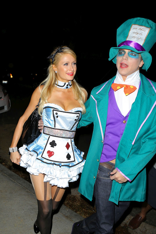 Paris Hilton at Halloween Party in Beverly Hills/></a></td></tr> <tr><td class=
