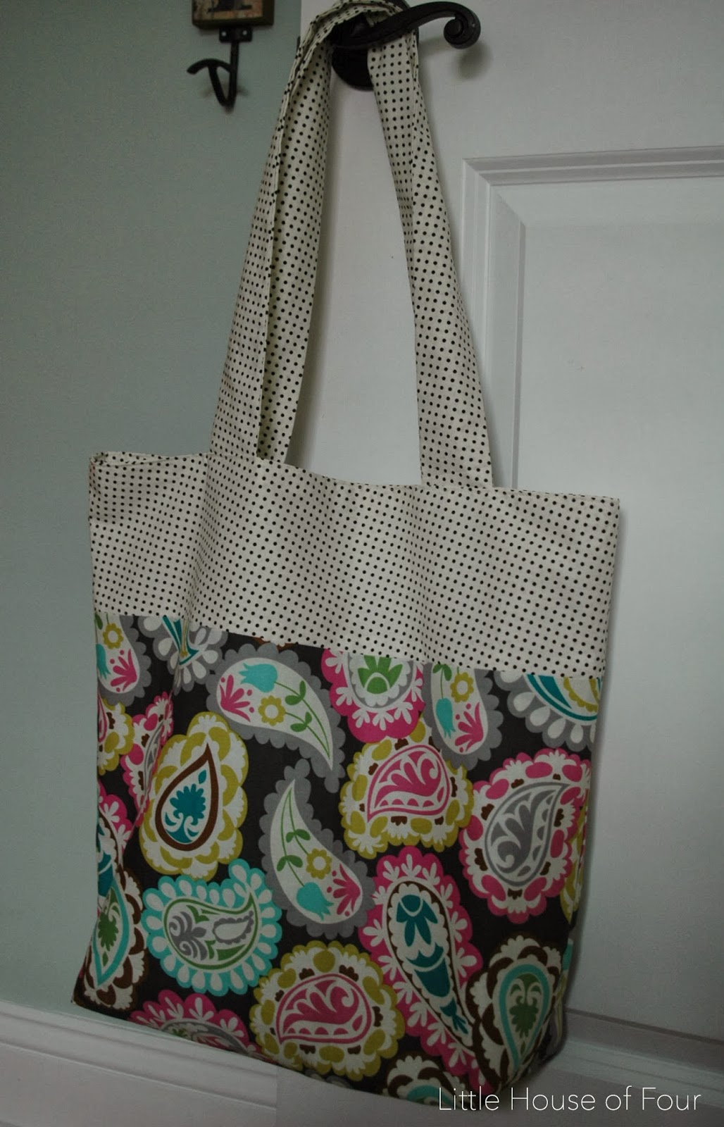 DIY} Fabric Bags... | Little House of Four - Creating a beautiful ...