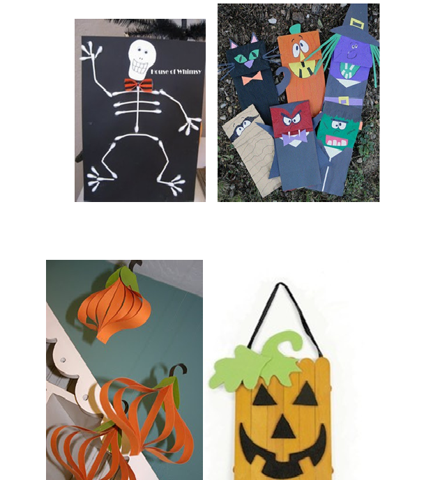 of course like many of you i get most of my classroom craft ideas from pinterest heres a few cute ones i found - Halloween Crafts For The Classroom