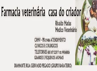 FARMACIA VETERINÁRIA EM DIAMANTE-PB