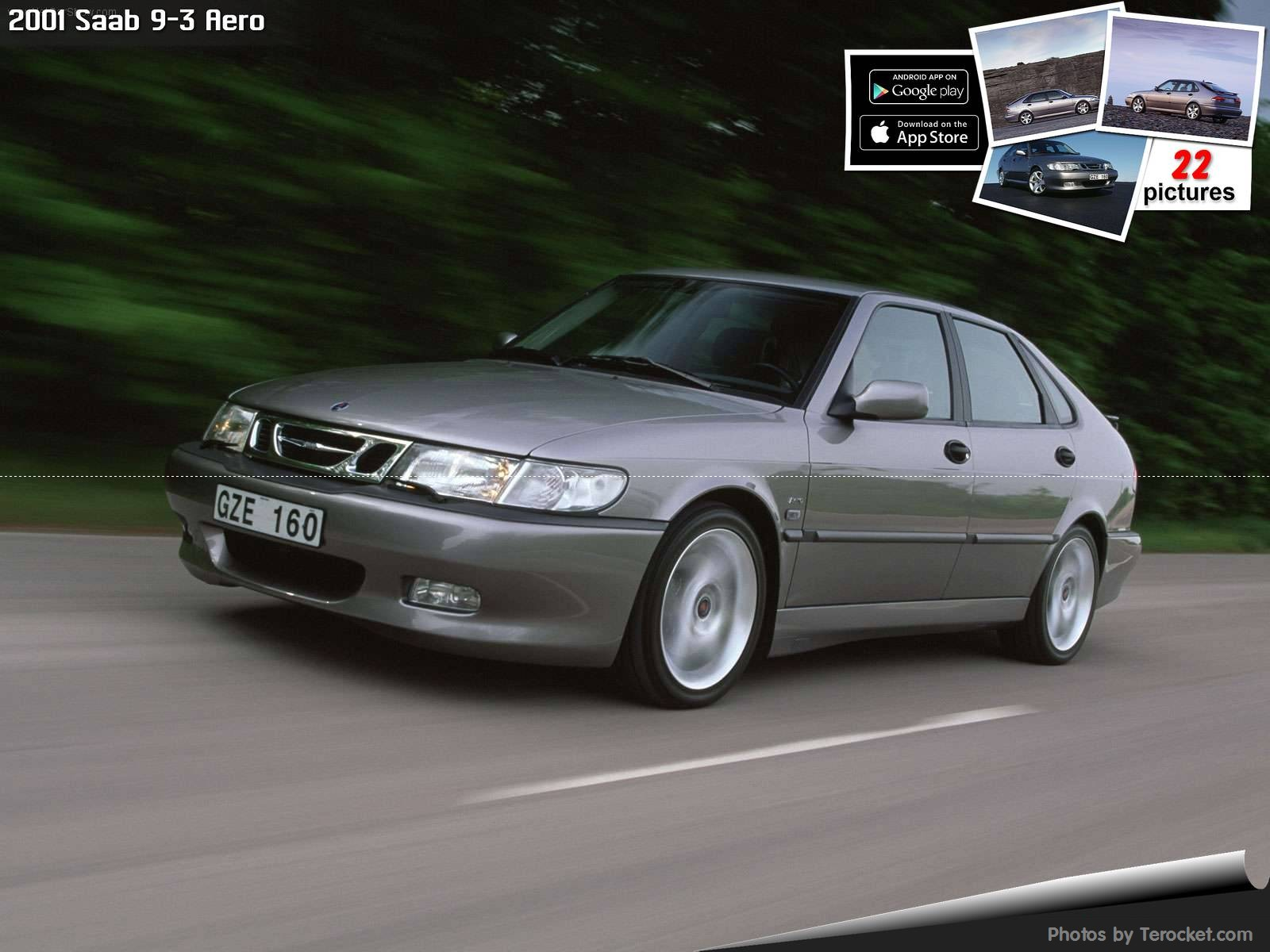 Hình ảnh xe ô tô Saab 9-3 Aero 2001 & nội ngoại thất