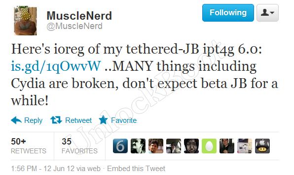 Musclenerd jailbreak iOS 6