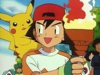 Ash cargando la antorcha