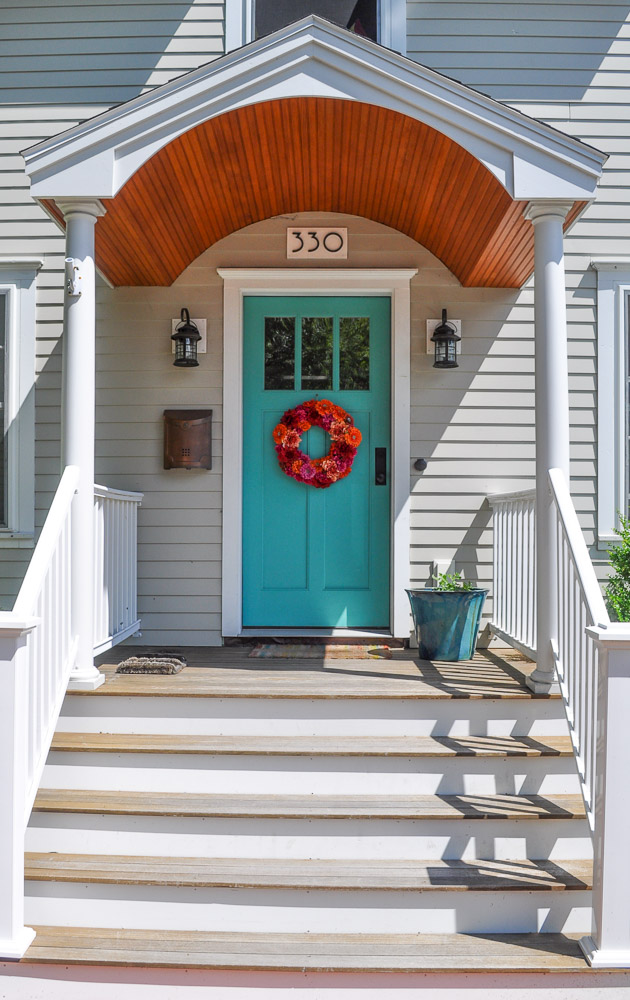 Port  A Potty Blue Front Door   Exterior Color Choices