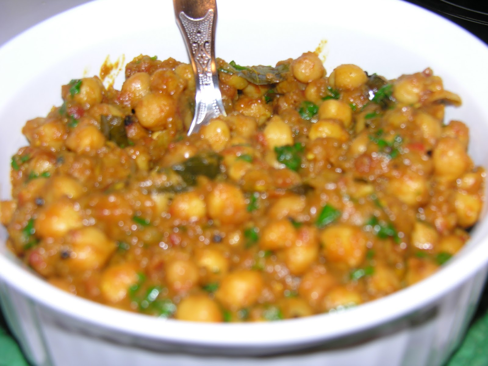 ShaRach cooking: Chana Masala