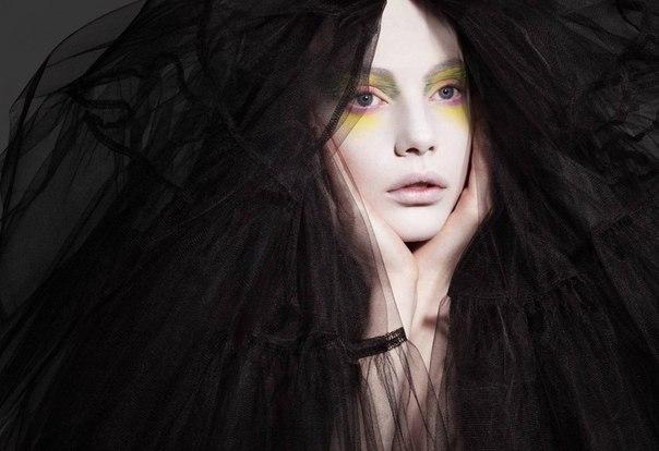 Фото - Креативный макияж для фотосессии