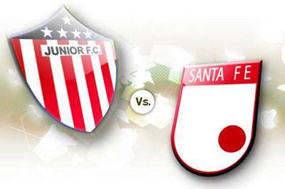 Junior vs Santafe en Vivo DirecTV Liga Postobon Fecha 10
